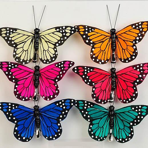 Butterfly w/Clip