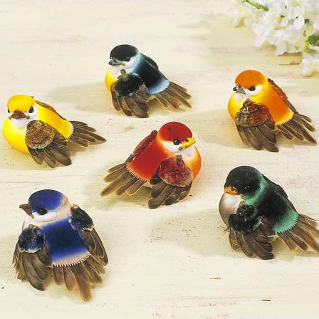 Birds, Mushroom