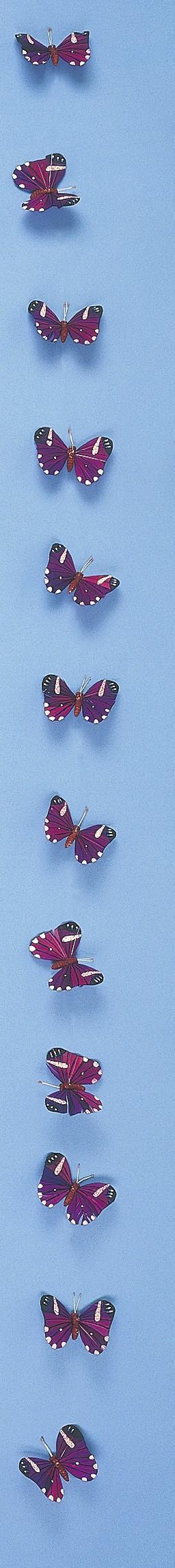 """Butterfly Garland Purple 3"""""""