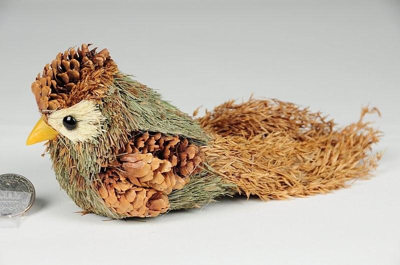 """Bird Pinecone 4"""""""