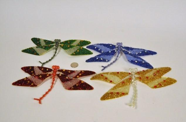 """Dragonfly Beads Asst*4 9"""""""
