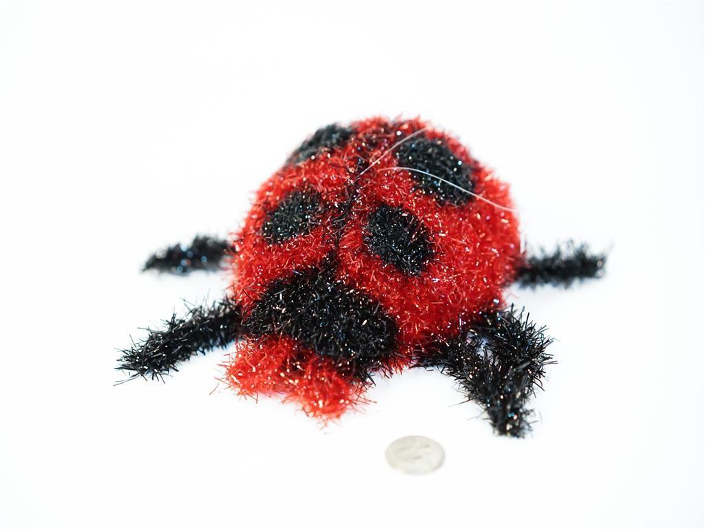 Lady Bug Red Fuzzy