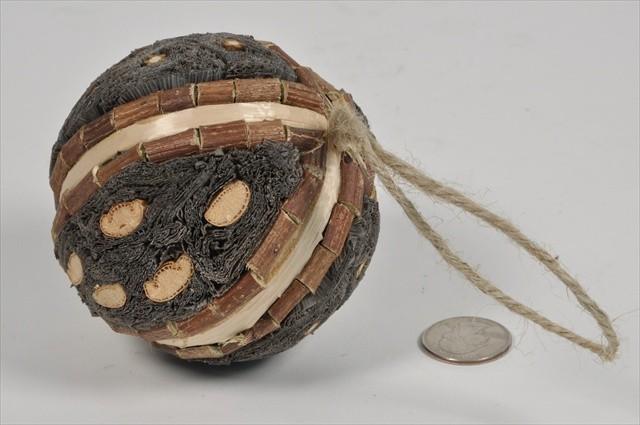 """Ball Nat. Green Leaf Bundling w/Twig 4"""""""