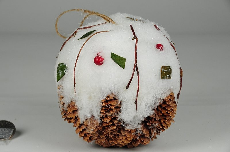 """Ball Brown Cone/Snow/Berry 5"""""""