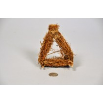 Nest Brown Twig Triangular 5""