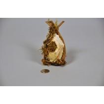 """Birdcage Nat. Birch/Vine/Moss 5.25"""""""