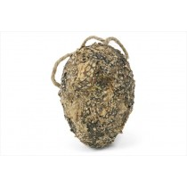Ball Egg Shaped Nat. Lichen/Moss 4""