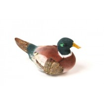 Duck Mallard Hunter Grn/Burgundy 2.5""