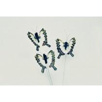 """Butterfly White/Blu/Grn 1.5"""""""