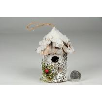 "Birdhouse Rd-Shape Birch/Snow 4.5"""