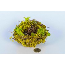 Nest Grn Breath/Leaf/Twig 4.5""