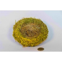 Nest Nat./Grn Breath w/Grass 5.5""