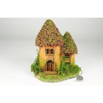 "House Nat. Nut Shell Roof 7""x9''H"