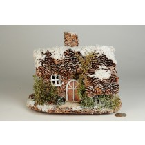 "House Snow Nat. Cone 7""x6.5""H"