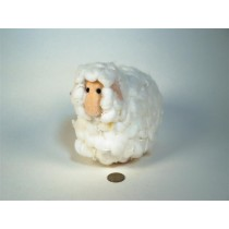 Sheep White Cotton Ball 6""