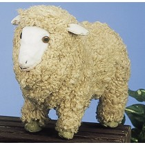 Sheep Nat. Jute 12""