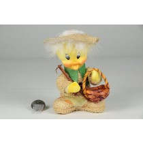 Duck Yellow Flocked w/Hat Sitting
