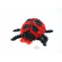 Lady Bug Red Fuzzy