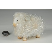 Sheep w/Body Tinsel 4""