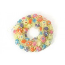 Wreath Egg Multi-Color w/Ribbon 10""