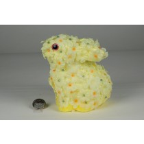 "Rabbit Yellow Flower Sitting 7"""