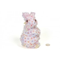 Rabbit Flower Body Standing 7""