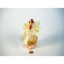 Chick Yel Feather on Egg Body 6""