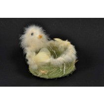 """Chick Feather Container 5"""""""