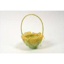 Cabbage Basket Yel/Green 4.75""