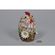 Hen Standup in Basket 5.5""