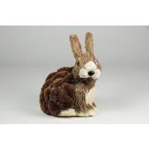 """Rabbit Brown Grass Sitting 6"""""""