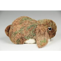 Rabbit Brn Grass Lop Lying Down 5.5""