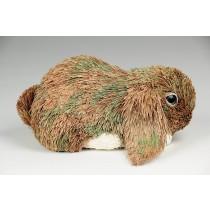 "Rabbit Brn Grass Lop Lying Down 5.5"""