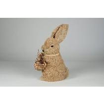 "Rabbit Rope w/Basket Standing 11"""