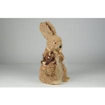 "Rabbit Rope w/Basket Standing 12"""