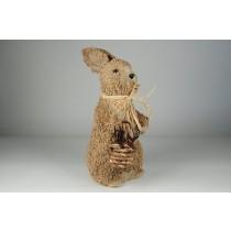 "Rabbit Rope w/Basket Standing 15"""