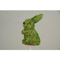 "Rabbit Green Moss Pick 3.5"""