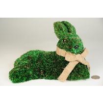 "Rabbit Green Grass Lying Down 9"""