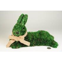 "Rabbit Green Grass Lying Down 11"""