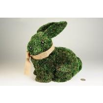 "Rabbit Green Grass Sitting 11"""