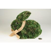 "Rabbit Green Grass Sitting 8"""
