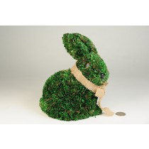 "Rabbit Green Grass Sitting Up 8"""