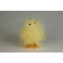 Chick Fuzzy Yellow 4""