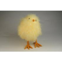 Chick Fuzzy Yellow 8""