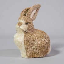 Rabbit Nat Brn Jute Sit 5.5""