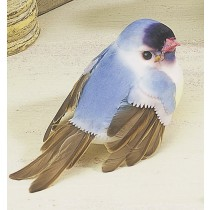 "Bird Lte Blue w/Yellow Belly 3.5"""