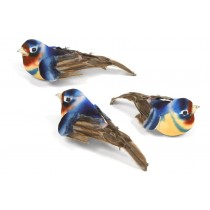 Bird Swallow Blue 4""