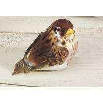 Bird Sparrow Brown 4""