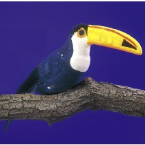 Bird Toucan Blue 13.5""