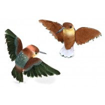 Humming Bird Ruby Throated 3.5""